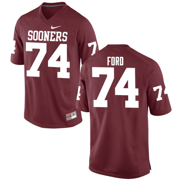 Men Oklahoma Sooners #74 Cody Ford College Football Jerseys Game-Crimson