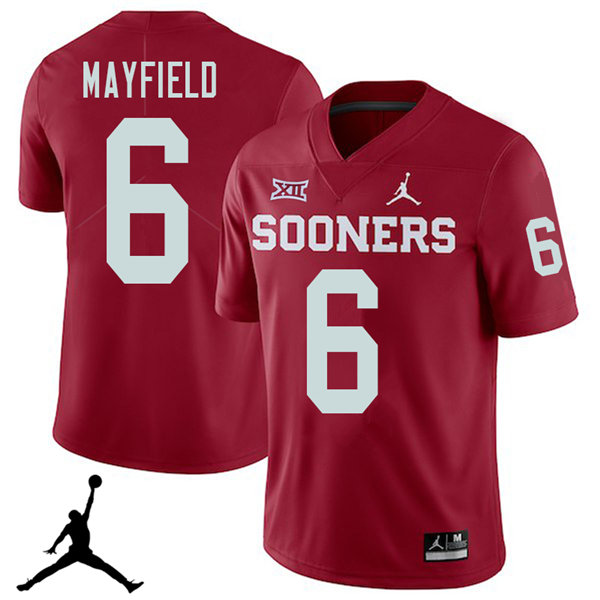 new arrival 4e882 8c8af Baker Mayfield Jersey : Official Oklahoma Sooners College ...