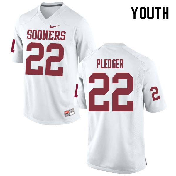 the best attitude 5cbb7 6927f T.J. Pledger Jersey : Official Oklahoma Sooners College ...